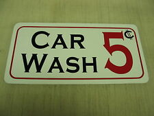 CAR WASH Vintage style Sign 4 Garage Shop Man Cave Racing Car Room
