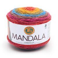 Mandala Yarn Cakes Colors