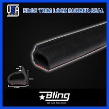120inch Rubber EPDM Foam Strip Tape Seal Trim Car Auto Window Door Self Adhesive