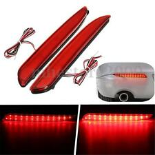 2x 24 LED Rear Bumper Reflector Brake Stop Running Light For Mazda3 2010-2013