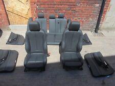 bmw f20 m sport black heated leather seats fits 2012-2019 5 door