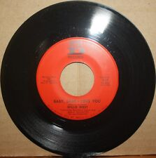 WILLIE WEST **Baby, I Love You** FACE THE MUSIC New Orleans R&B 45 on DEESU 317