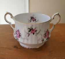 Open Sugar Bowl Windsor Rose by PRINCESS HOUSE Fine Bone China Made in England