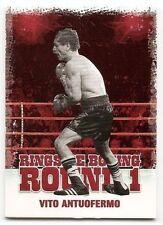 2010 RINGSIDE BOXING ROUND 1 BASE Vito Antuofermo #50