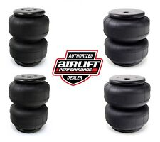 (4) AIR LIFT DOMINATOR D2600 AIR RIDE SUSPENSION BAGS
