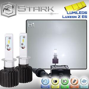New Z ES LED 8000LM Kit 6000K 6K White Headlight Light PAIR - H1