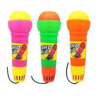 3pcs Echo Mikrofon Spielzeug für Kinder Cosplay Mikrofon Spielzeug Ohne Batterie