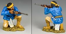 KING & COUNTRY THE REAL WEST TRW105 APACHE KNEELING FIRING MIB