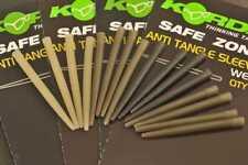 Korda Safe Zone Anti Tangle Sleeves Weed QYT 25pcs Katsw Carp Fishing Tackle