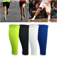 Running Basketball Sports Leg Calf Support Stretch Sleeve Compression Socks