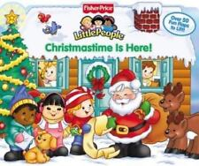 Fisher-Price Little People Mini-Flap PlayBooks: Christmastime Is Here! by Ellen