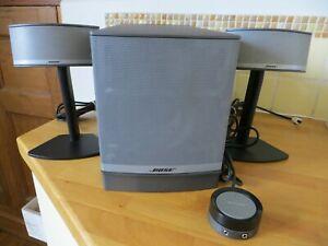 Bose Companion 5 Multimedia Speaker System - Silver / Black