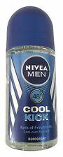 Nivea Deo Cool Kick Roll On Long - Lasting Freshness For Men Deodorant - (50 ML)