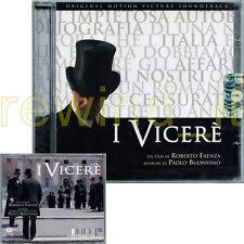 """RARO CD OST SEALED """"I VICERE'"""" FILM DI ROBERTO FAENZA MUSICHE DI PAOLO BUONVINO"""