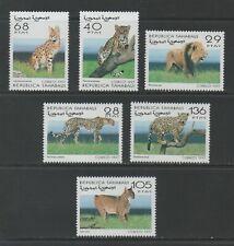 Thematic Stamps Animals - SAHARA 1997 BIG CATS 6v mint