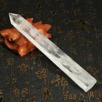 Large 16-18cm Clear White Quartz Crystal Rock Wand Point