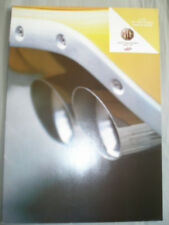 MG & Rover range brochure 2002 French text