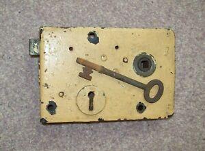 Antique Door Lock and Key