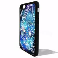 Mandala floral flower print pretty girly cover case for Iphone 5 5C 6 6s 7 plus
