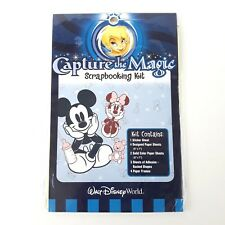 Disney World Baby Scrapbooking Kit Capture The Magic Mickey Minnie Mouse