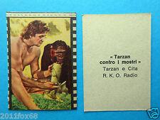 figurines figuritas figurine nannina 1950 r.k.o. cita tarzan contro i mostri gq