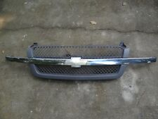 (BT228) 03 04 05 CHEVY SILVERADO GRILL GRILLE ASSEMBLY WITH EMBLEM OEM FRONT