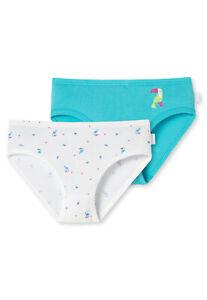 Basic Unterhose Feinripp Hüftslip Multipack 98-140 SCHIESSER Mädchen Slip