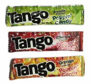 15 x Tango Popping Candy - Sweets Birthday Party Bag Fillers Retro Slush Reward
