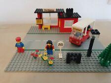 ☼ TOP ☼ Lego 379  Town ☼ Bushaltestelle - Bus Station  ☼ komplett  TOP  ☼