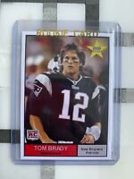2000 NFL Star TOM BRADY Rookie Card RC Patriots Buccaneers ACEO Card MVP GOAT