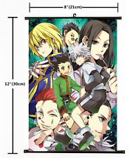 Anime Hunter X Hunter Killua Gon Kurapika home decor Wall Scroll Poster 2469