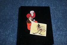 Disney Catalog 2002 Peter Pan Villain Captain Hook W/Concept Art Le Boxed Pin