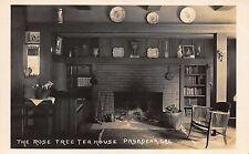 Real Photo Postcard Rose Tree Tea House in Pasadena, California~110697