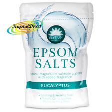 Elysium Epsom Sales de Baño Eucalipto sulfato de magnesio Relajante remojo 450g