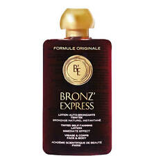 Bronz'Express Tinted Lotion Academie 100ml face and body self tan Bronze Tanning