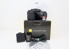 Nikon Coolpix P600 - 16MP 60x Optical Zoom Bridge Camera - 64GB SD Card and Box