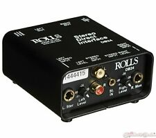 Rolls DB24 Passive Stereo Direct Interface Box