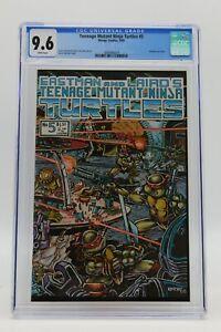 Teenage Mutant Ninja Turtles (1984) #5 1st Print CGC 9.6 Blue Label White Pages