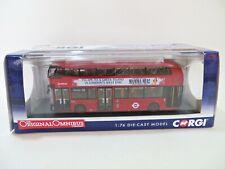 CORGI OOC OM46605 'NEW ROUTEMASTER LONDON BUS, #38 VICTORA MAMMA MIA' 1:76. MIB.