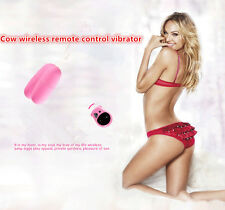 Female Discreet Cows Style Wireless Remote Control Multispeed Vibrator in Panty