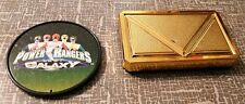 1998 Bandai Power Rangers Belt Buckle badge Cosplay RolePlay toy rare 1990s 90s