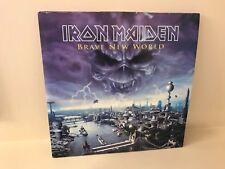 IRON MAIDEN BRAVE NEW WORLD 2 LP VINYL PICTURE DISC FIRST PRESSING 2000