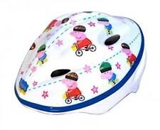 Peppa Pig Kids Protective Bike Cycling Safety Helmet White 48 to 54cm CASCOPIG