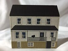 Vtg 1991 The Cat's Meow Jonas Troyer Home Ohio Amish Series Hand Signed Faline