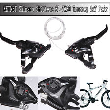 Shimano ST-EF51 Set 3 x 7 Shifter/Brake Lever Combo (21 Speed) Black V-Brake