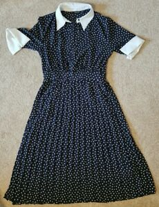 Zara polka dot dress small