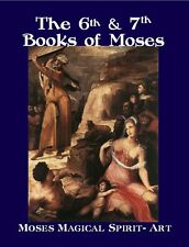 Sixth and Seventh Books of Moses (Larger Print); magic, kabbalah, mysticism,