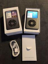 Apple iPod Classic 7th gen 160GB Black Boxed Great Condition Latest & Last Model