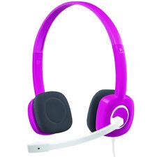 Logitech H150 Fuchsia Pink Headband Headsets