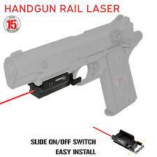 Red Dot Laser Sight for Pistol Handgun Ambi w/ Picatinny Rail Mount - US SELLER